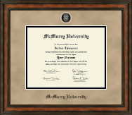 McMurry University Diploma Frame - Heirloom Edition Diploma Frame in Ashford