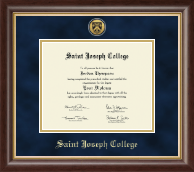 Saint Joseph College in Connecticut Diploma Frame - Gold Engraved Diploma Frame in Hampshire