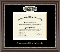 Appalachian State University Diploma Frame - Campus Cameo Diploma Frame in Chateau