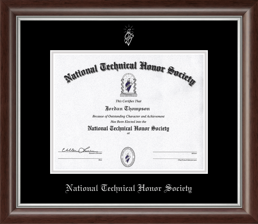 Best Motivational Quotes For Students: National Technical Honor Society Silver Embossed