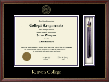 Kenyon College Diploma Frame - Tassel Edition Diploma Frame in Newport