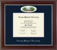 Lincoln Memorial University Diploma Frame - Campus Cameo Diploma Frame in Chateau