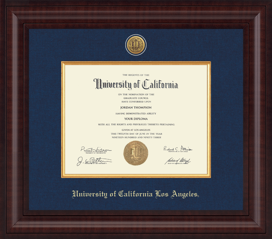 University Of California Los Angeles Presidential Gold