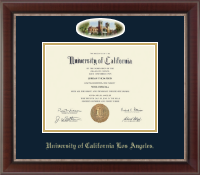University of California Los Angeles Diploma Frame - Campus Cameo Diploma Frame in Chateau