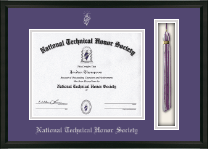 National Technical Honor Society Certificate Frame - Tassel Edition Certificate Frame in Omega