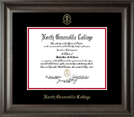 North Greenville University Diploma Frame - Gold Embossed Diploma Frame in Acadia