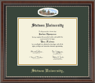 Stetson University Diploma Frame - Campus Cameo Diploma Frame in Chateau