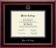 Paine College Diploma Frame - Gold Embossed Diploma Frame in Gallery