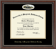University of Maryland, Baltimore County Diploma Frame - Campus Cameo Diploma Frame in Chateau