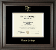 Dordt College Diploma Frame - Gold Embossed Diploma Frame in Acadia