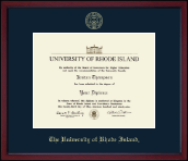 The University of Rhode Island Diploma Frame - Gold Embossed Achievement Edition Diploma Frame in Academy