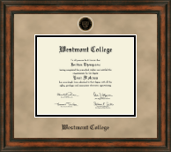 Westmont College Diploma Frame - Heirloom Edition Diploma Frame in Ashford