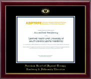 American Board of Physical Therapy Residency & Fellowship Education Certificate Frame - Gold Embossed Certificate Frame in Gallery