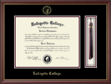 Lafayette College Diploma Frame - Tassel Edition Diploma Frame in Newport