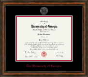 The University of Georgia Diploma Frame - Heirloom Edition Diploma Frame in Ashford