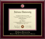 Indiana University - Purdue University Columbus Diploma Frame - Masterpiece Medallion Diploma Frame in Gallery