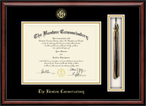 The Boston Conservatory Diploma Frame - Tassel Edition Diploma Frame in Southport