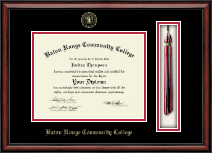 Baton Rouge Community College Diploma Frame - Tassel Edition Diploma Frame in Southport