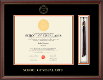 School of Visual Arts Diploma Frame - Tassel Edition Diploma Frame in Newport