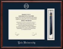 Yale University Diploma Frame - Tassel Edition Diploma Frame in Southport