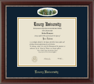 Emory University  Diploma Frame - Campus Cameo Diploma Frame in Chateau