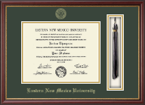 Eastern New Mexico University Diploma Frame - Tassel Diploma Frame in Newport