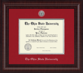 The Ohio State University Diploma Frames Church Hill