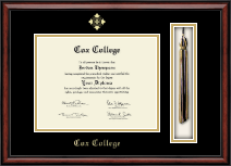 Cox College Diploma Frame - Tassel Edition Diploma Frame in Southport
