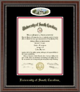 University of South Carolina Diploma Frame - Campus Cameo Diploma Frame in Chateau