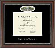 Bemidji State University  Diploma Frame - Campus Cameo Diploma Frame in Chateau