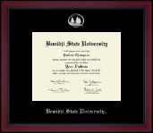 Bemidji State University  Diploma Frame - Silver Embossed Achievement Edition Diploma Frame in Academy