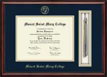 Mount Saint Mary College Diploma Frame - Tassel Edition Diploma Frame in Southport