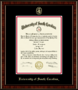 University of South Carolina Diploma Frame - Gold Embossed Diploma Frame in Ridgewood