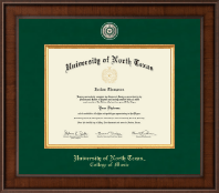 University of North Texas Diploma Frame - Presidential Masterpiece Diploma Frame in Madison