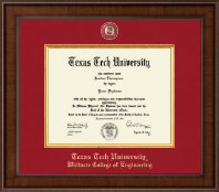 Texas Tech University Diploma Frame - Presidential Masterpiece Diploma Frame in Madison