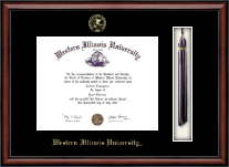 Western Illinois University Diploma Frame - Tassel Edition Diploma Frame in Southport