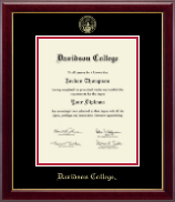 Davidson College Diploma Frame - Gold Embossed Diploma Frame in Gallery