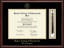 Palmer College of Chiropractic West Campus Diploma Frame - Tassel Edition Diploma Frame in Southport