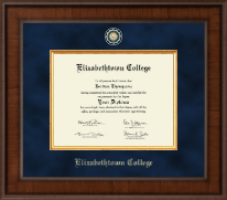 Elizabethtown College Diploma Frame - Presidential Masterpiece Diploma Frame in Madison