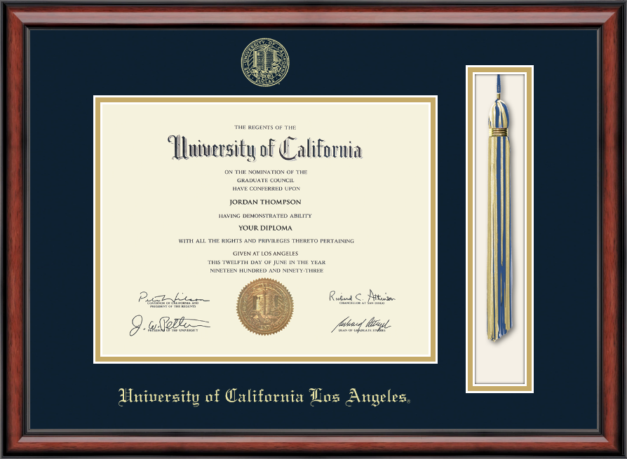 University Of California Los Angeles Tassel Edition