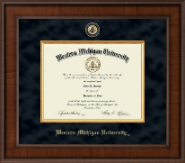Western Michigan University Diploma Frame - Presidential Masterpiece Diploma Frame in Madison