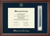 Wheelock College Diploma Frame - Tassel Edition Diploma Frame in Newport