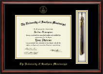 The University of Southern Mississippi Diploma Frame - Tassel Edition Diploma Frame in Southport