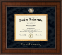 Purdue University Diploma Frame - Presidential Masterpiece Diploma Frame in Madison