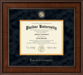 purdue university diploma frame presidential masterpiece diploma frame in madison - Diploma Frames Cheap
