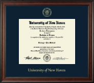 University of New Haven Diploma Frame - Gold Embossed Diploma Frame in Studio