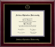 Abilene Christian University Diploma Frame - Gold Embossed Diploma Frame in Gallery