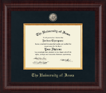 The University of Iowa Diploma Frame - Presidential Masterpiece Diploma Frame in Premier