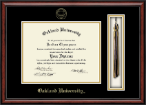 Oakland University Diploma Frame - Tassel Edition Diploma Frame in Southport