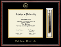 Oglethorpe University  Diploma Frame - Tassel Edition Diploma Frame in Southport